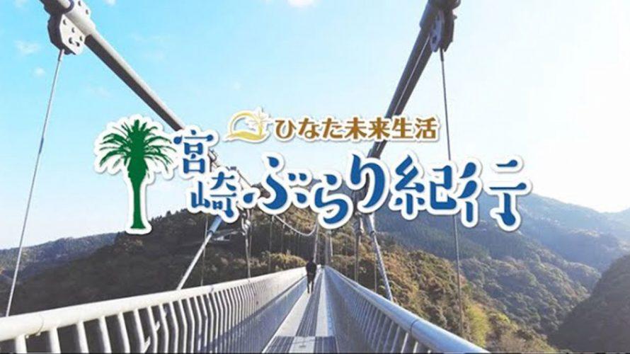 【宮崎ぶらり紀行】世界最大級の高さ|歩く吊り橋で森を満喫|照葉大吊橋|宮崎県|綾町|